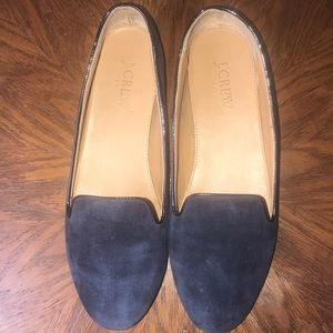 J. Crew suede smoking slippers Size 8